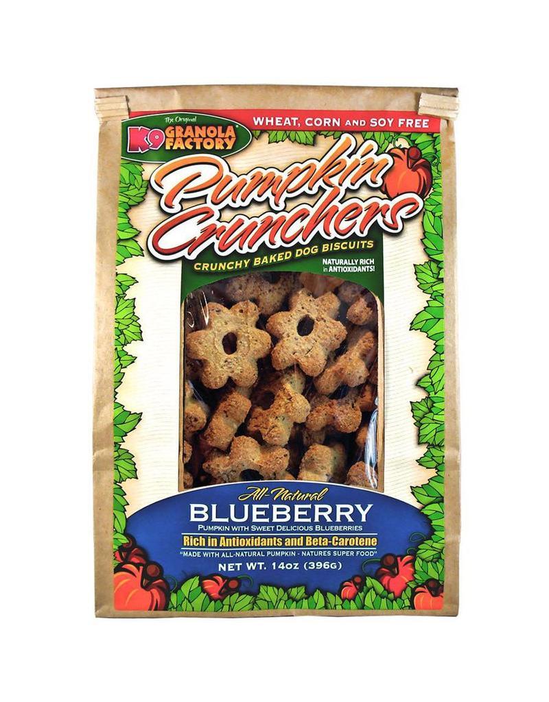 K9 Granola Factory Pumpkin Crunchers with Blueberries Dog Treats, 14-oz (Size: 14-oz) Image