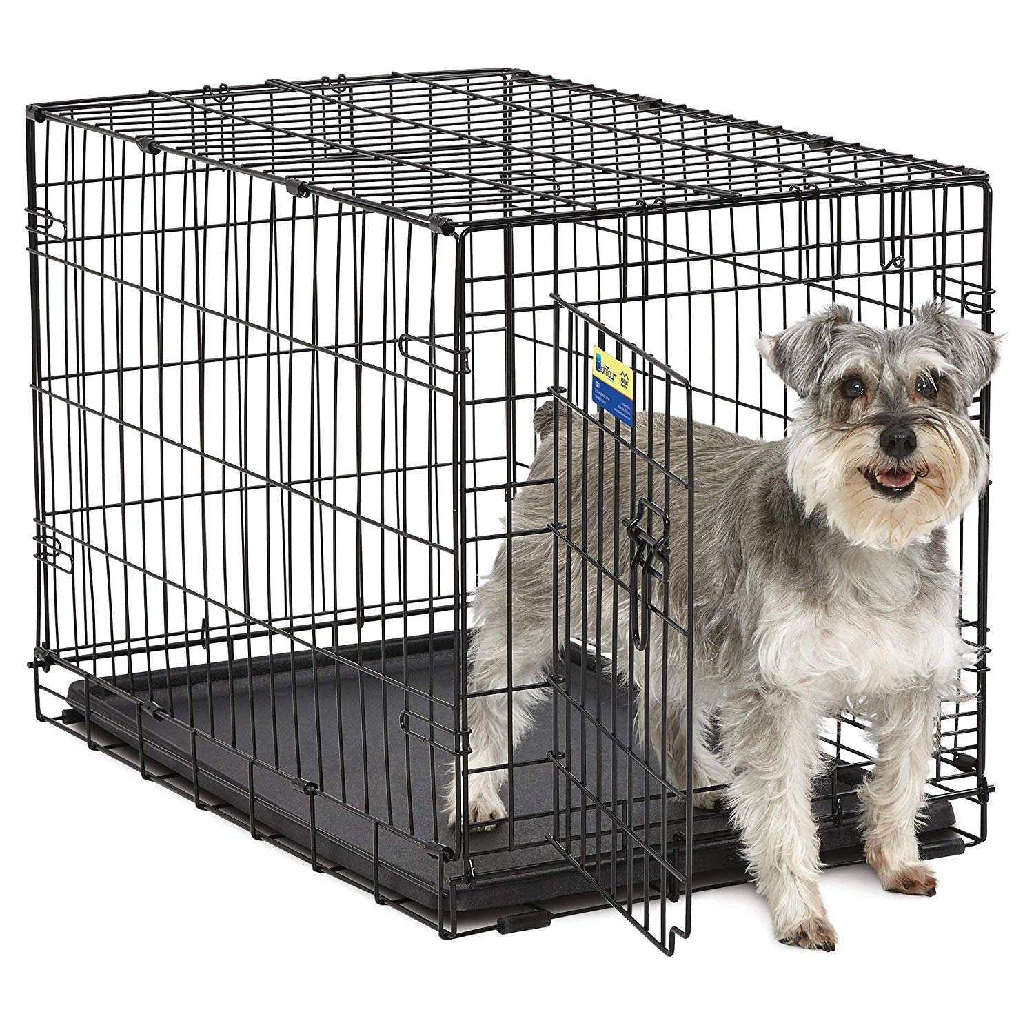 "Midwest Crate Contour Single Door Dog Crate 30"" Image"
