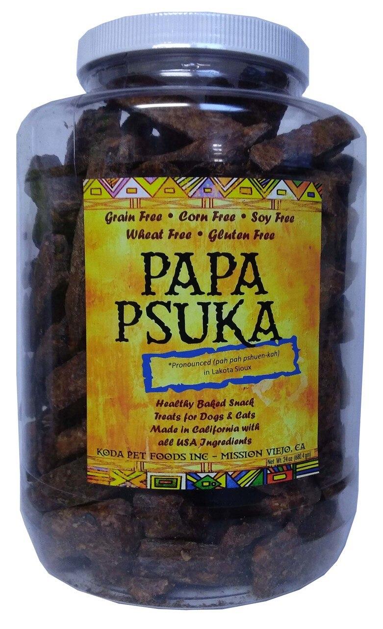 Koda Pet Papa Psuka Natural Beef Dog Treats, 24-oz