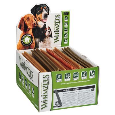 WHIMZEES Stix Dental Dog Treats, X-Large, 30 count