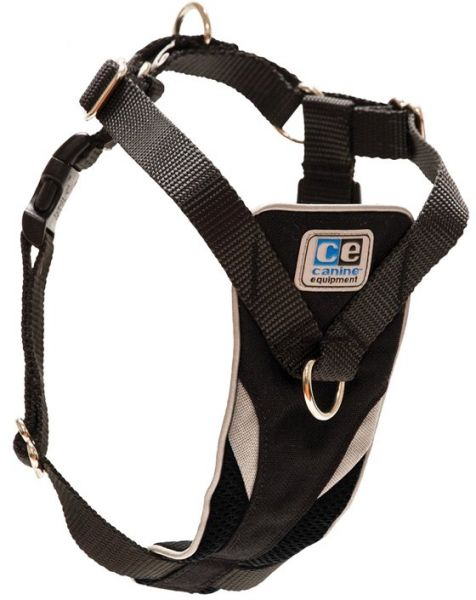 RC Pet Products Canine Equipment Ultimate Control Dog Harness, Black, Large