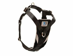 RC Pet Products Canine Equipment Ultimate Control Dog Harness, Black, Medium