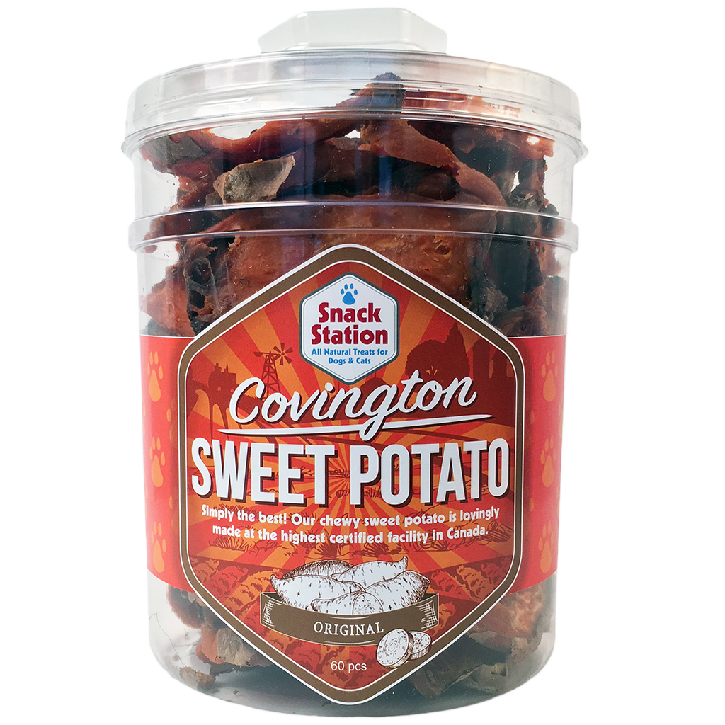 This & That Snack Station Covington Sweet Potato Original Dog Treats, 60-count