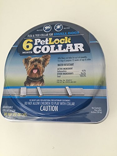 PetLock 6 Month Flea & Tick Small Dog Collar