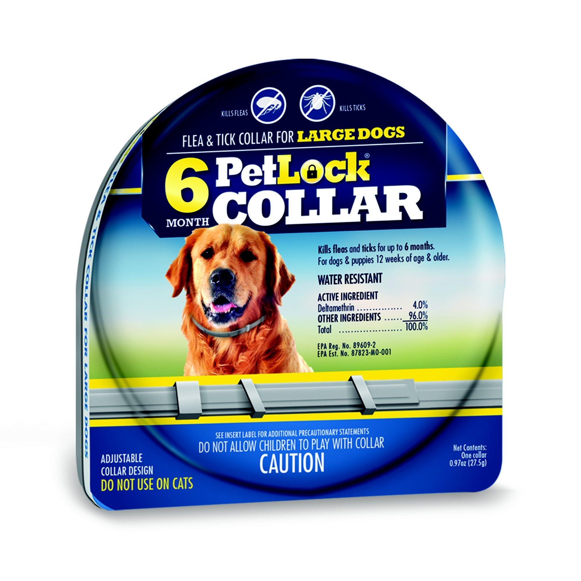 PetLock 6 Month Flea & Tick Large Dog Collar Image
