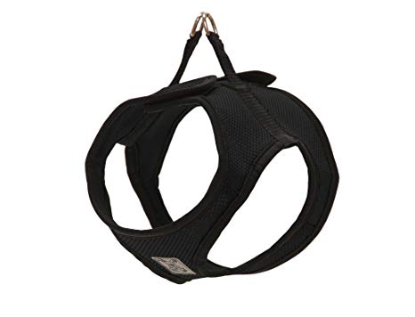RC Pet Products Step-In Cirque Black Dog Harness, X-Large