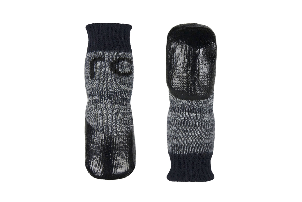 RC Pet Products Sport Pawks Charcoal Heather Dog Socks Image