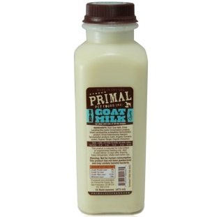 Primal Raw Frozen Goat Milk for Dogs & Cats, 1-qt