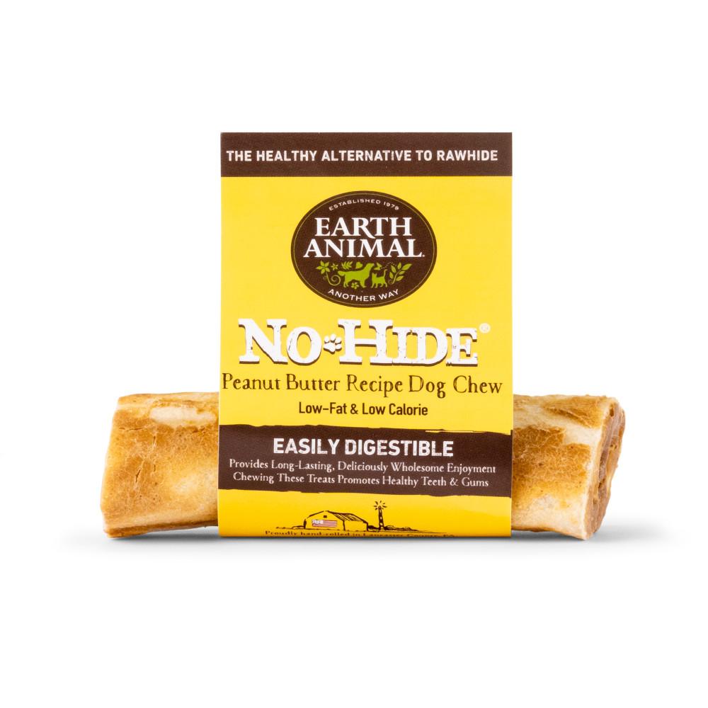 Earth Animal No-Hide Peanut Butter Chew Dog Treat, 4-in