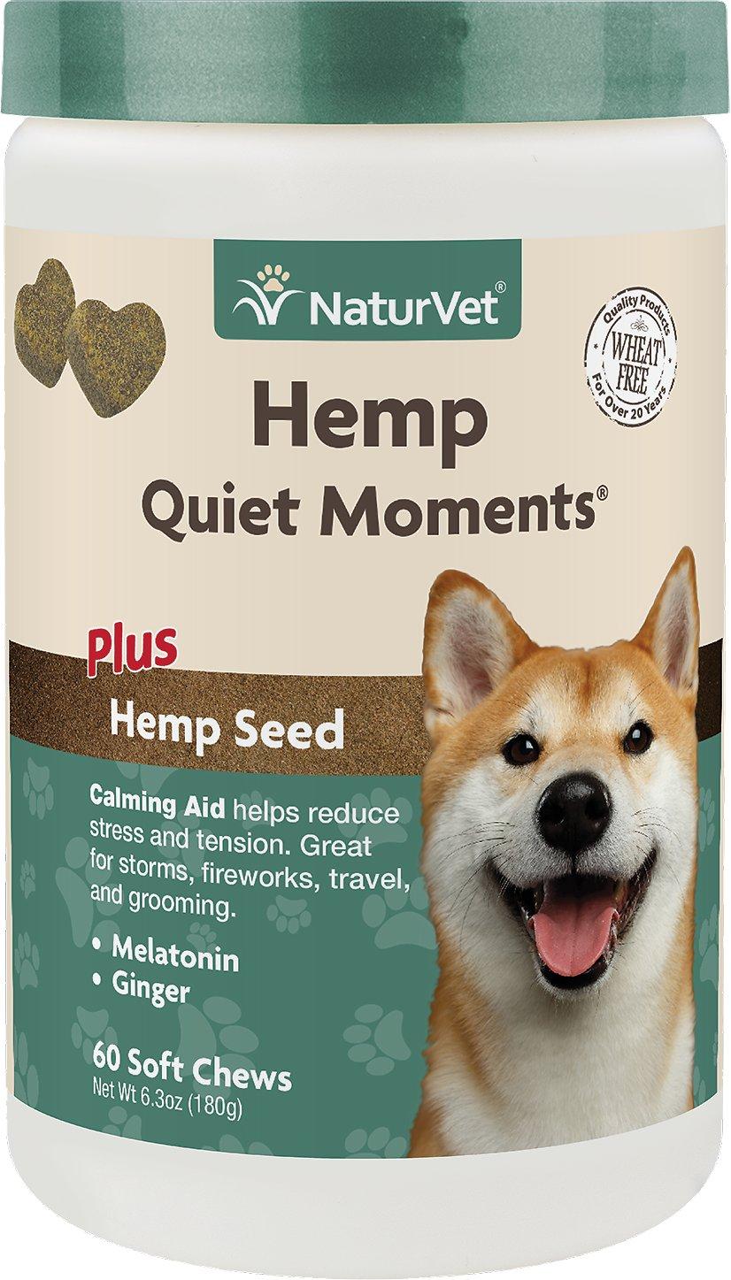NaturVet Quiet Moments Plus Dog Soft Chews, 180-count