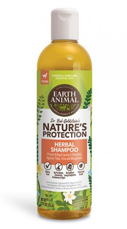 Earth Animal Nature's Protection Flea & Tick Herbal Shampoo, 12-oz (Size: 12-oz) Image
