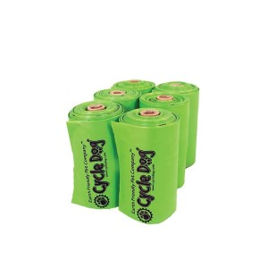 Cycle Dog Earth Friendly Pick-Up Bags, 6-rolls