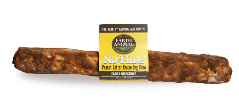 Earth Animal No-Hide Peanut Butter Chew Dog Treat, 7-in (Size: 7-in) Image