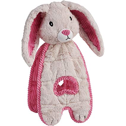 Charming Pets Cuddle Tugs Dog Toy, Bunny