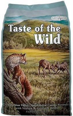 Taste of the Wild Appalachian Valley Small Breed Grain-Free Dry Dog Food, 14-lb
