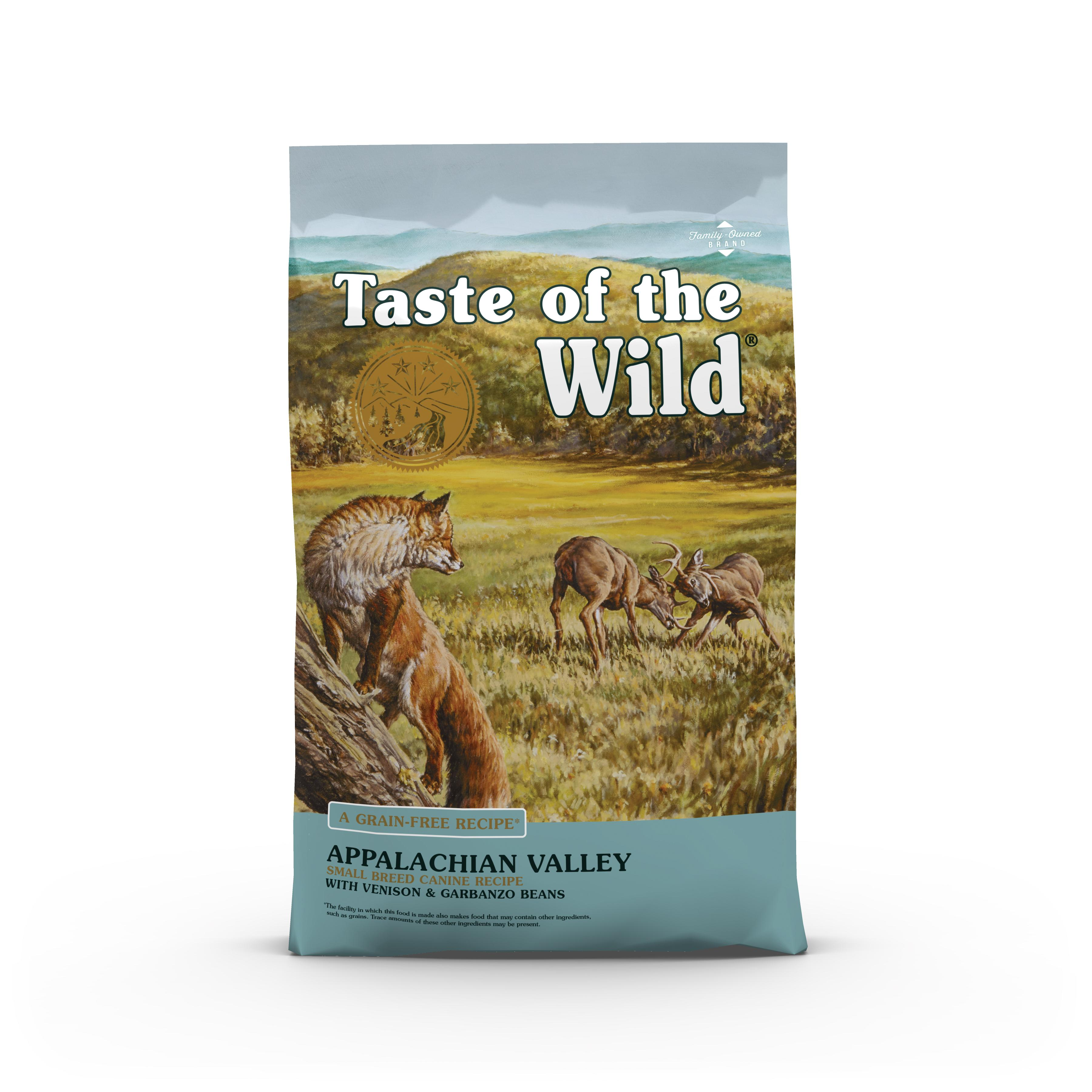 Taste of the Wild Appalachian Valley Small Breed Grain-Free Dry Dog Food, 5-lb