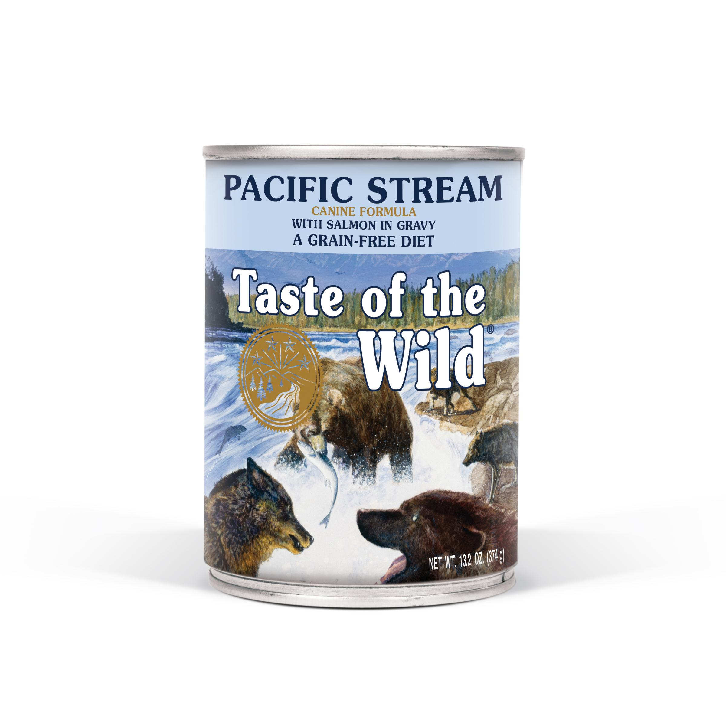 Taste of the Wild Pacific Stream Grain-Free Canned Dog Food Image