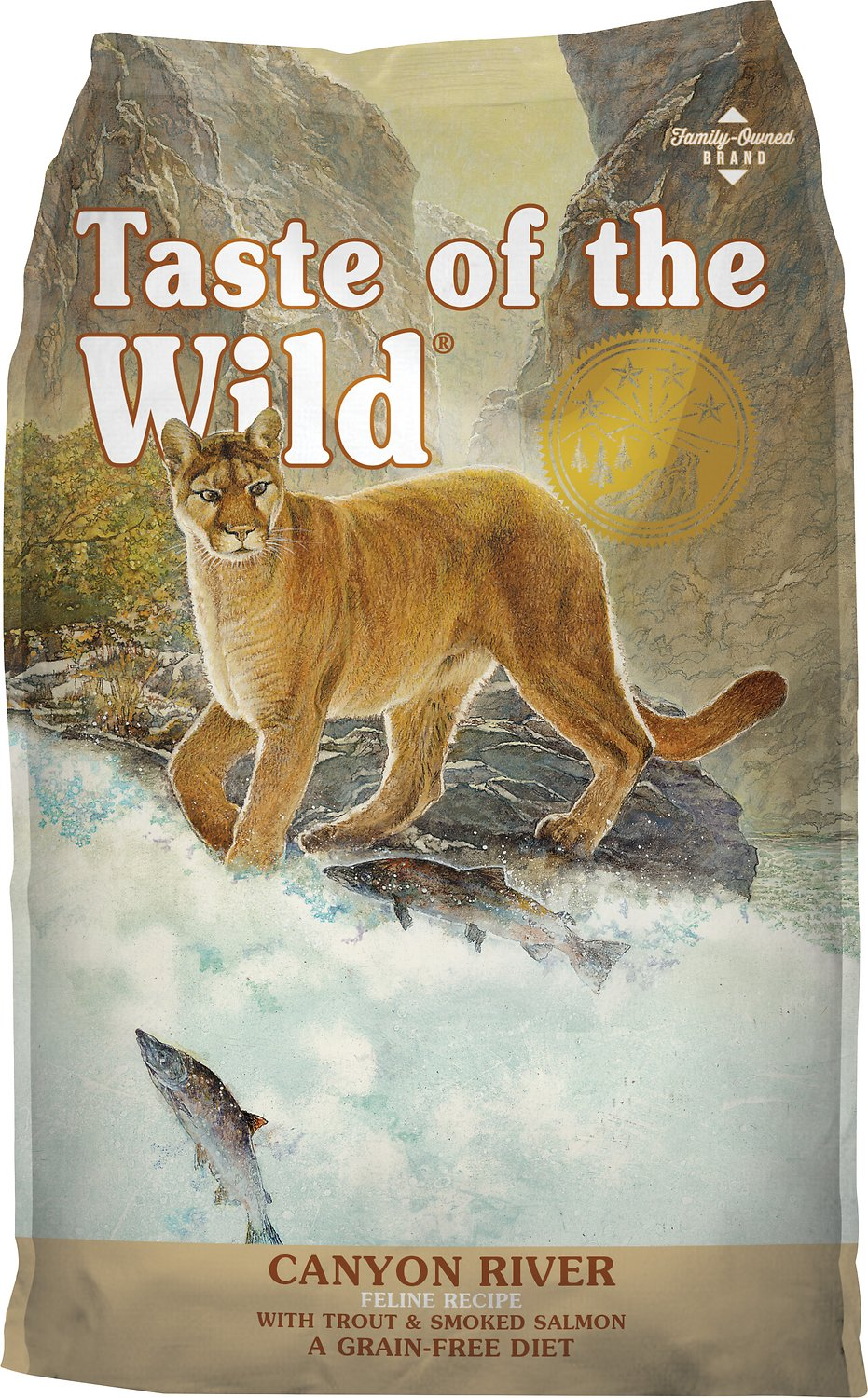 Taste of the Wild Canyon River Grain-Free Dry Cat Food Image