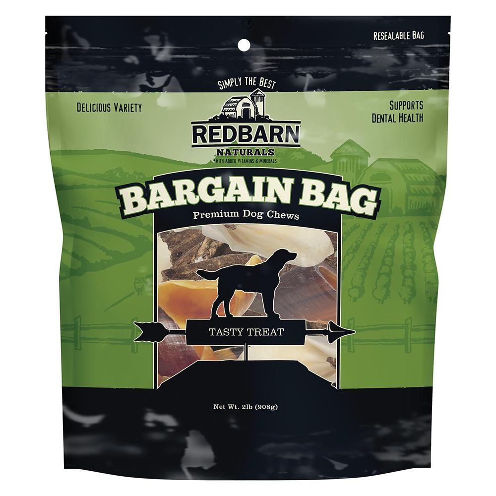 Redbarn Natural Bargain Bag Dog Chews, 2-Lb
