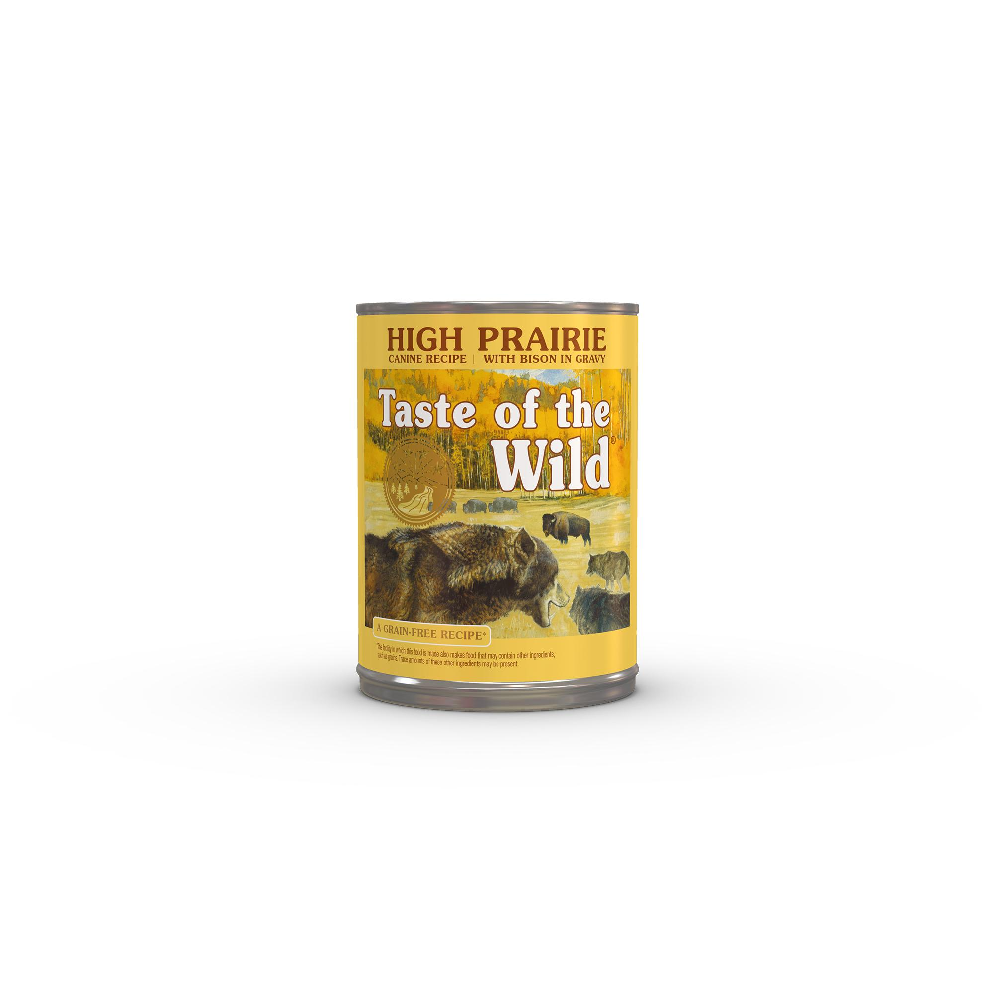 Taste of the Wild High Prairie Grain-Free Canned Dog Food Image