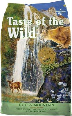 Taste of the Wild Rocky Mountain Grain-Free Dry Cat Food, 5-lb