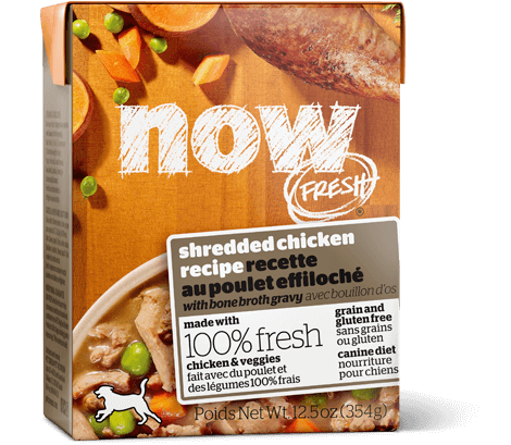 Now Fresh Grain-Free Shredded Chicken Wet Dog Food, 12.5-oz, case of 12