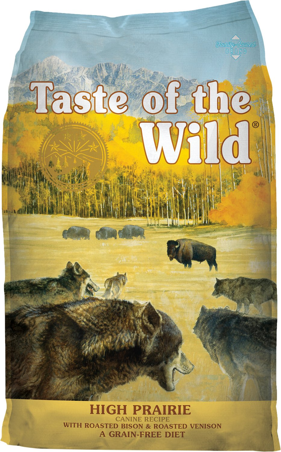 Taste of the Wild High Prairie Grain-Free Dry Dog Food Image
