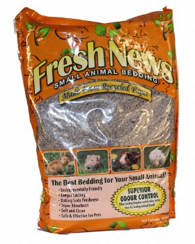Fresh News Recycled Paper Small Animal Bedding, 4.46-lb