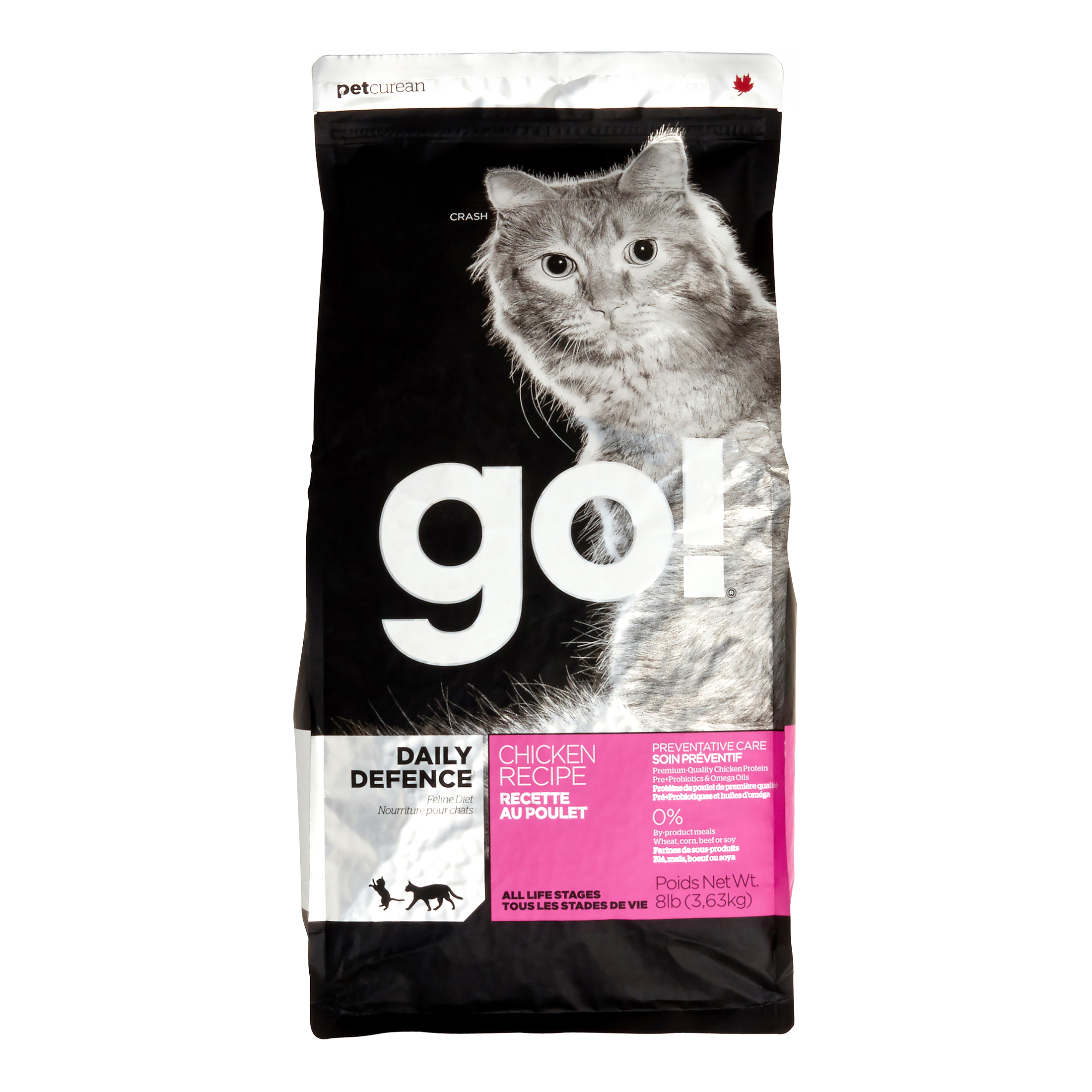Go! Daily Defence Chicken Dry Cat Food, 16-lb