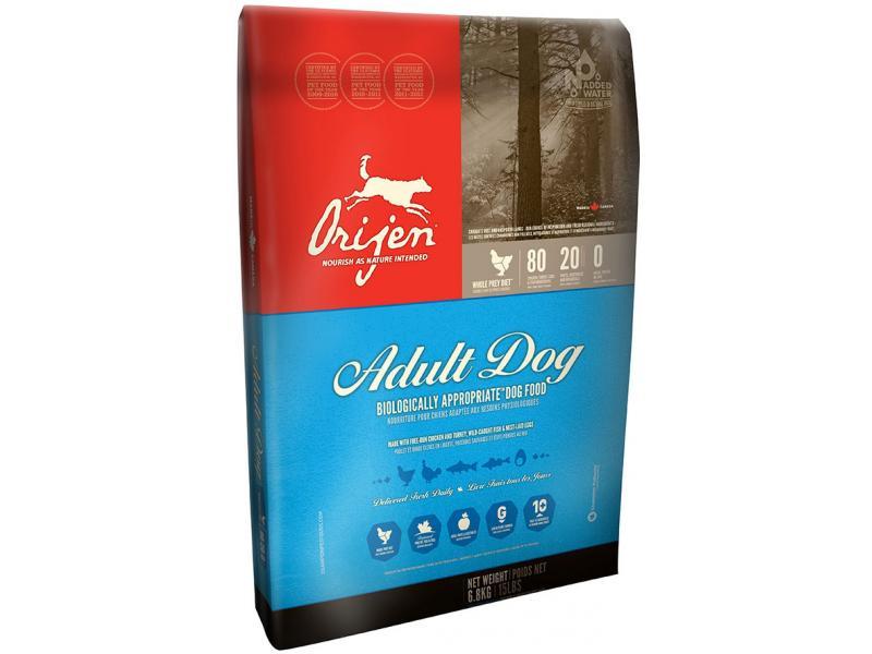Orijen Adult Dry Dog Food, 5-lb
