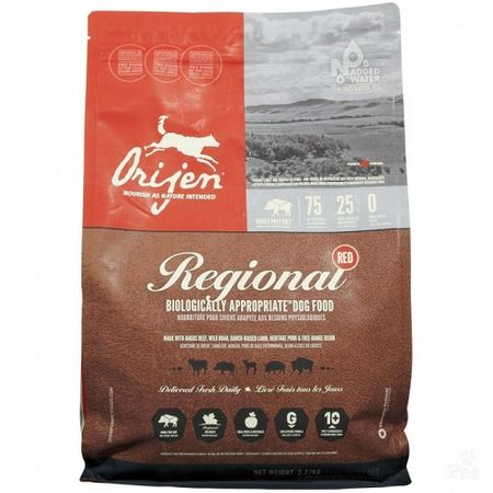 Orijen Regional Red Dry Dog Food, 15-lb