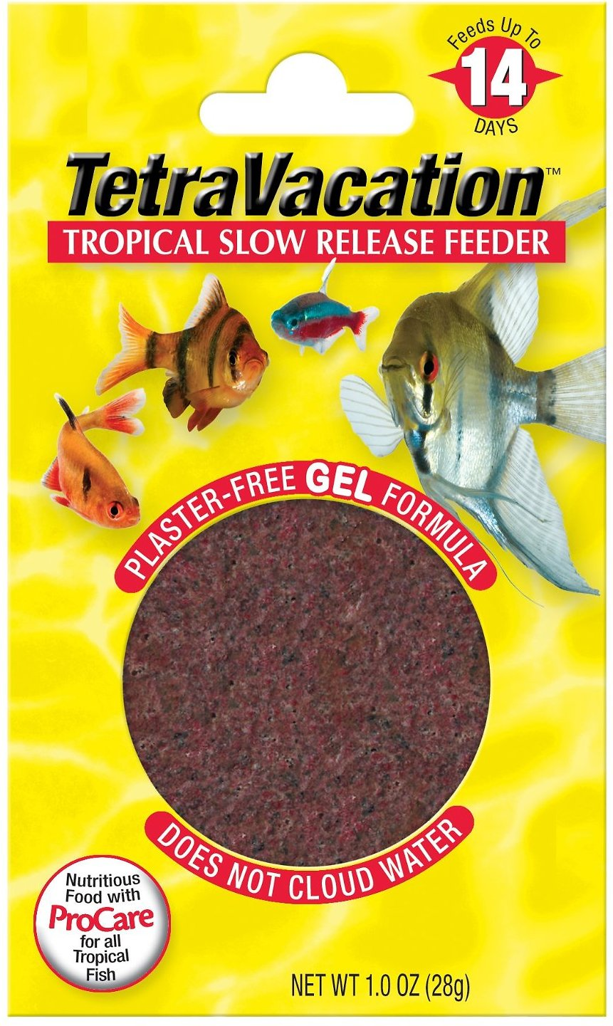 Tetra Vacation Tropical Slow Release Fish Feeder Food Image