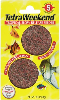 Tetra Vacation Tropical Slow Release Fish Feeder Food, 5-days