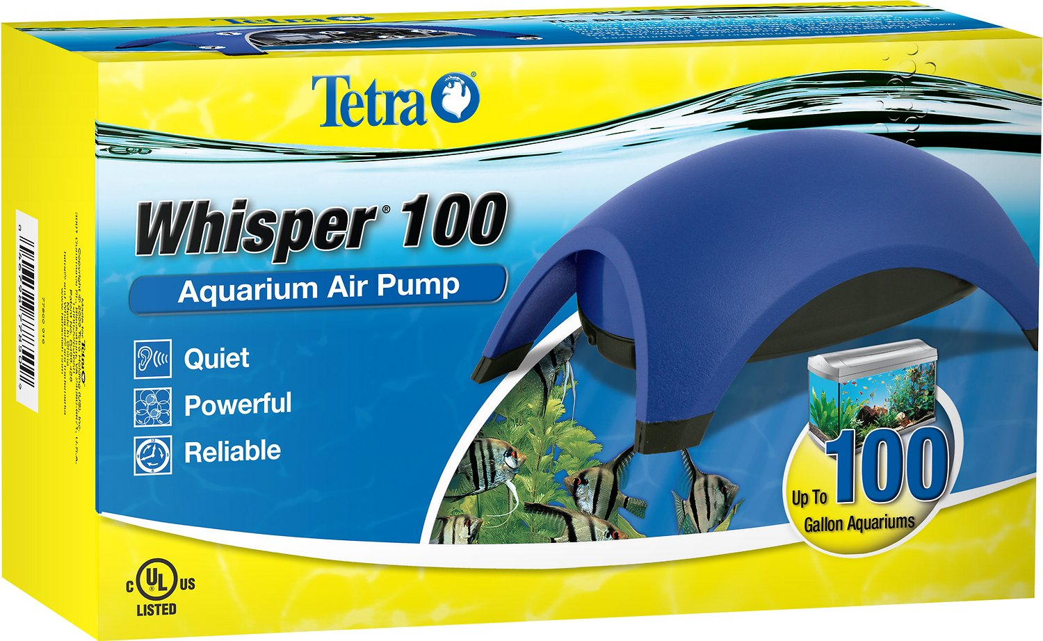 Tetra Whisper UL Air Pump for Aquariums Image