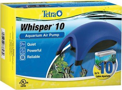 Tetra Whisper UL Air Pump for Aquariums, Size 010