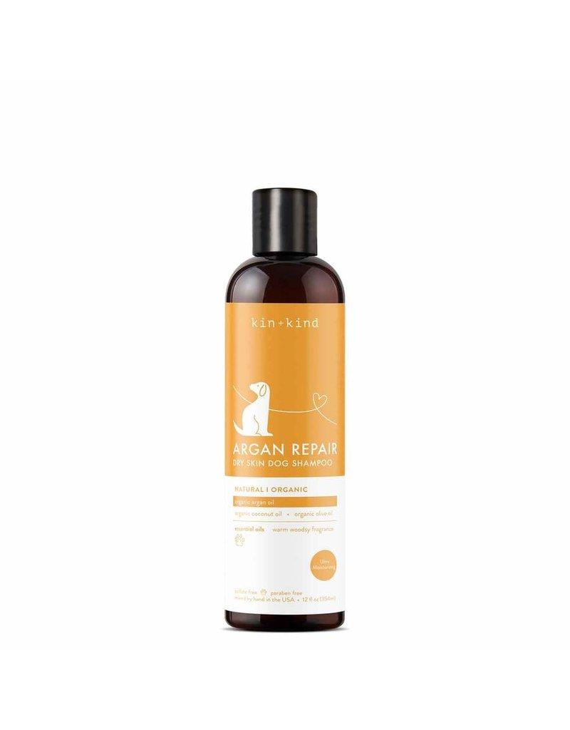 kin+kind Argan Repair Dry Skin Dog Shampoo, 12-oz
