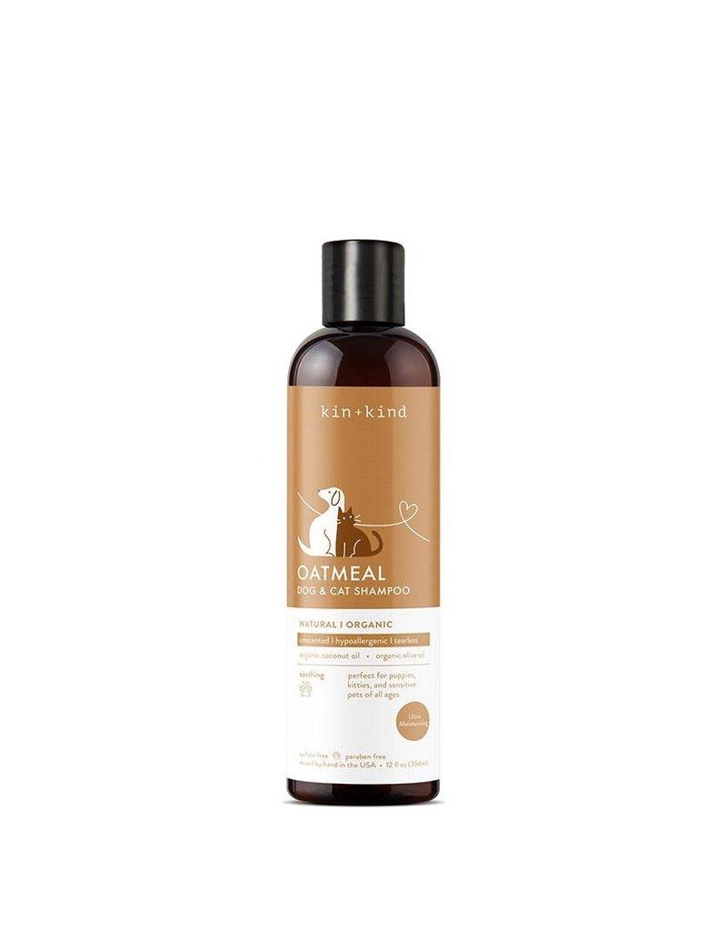 kin+kind Oatmeal Dog Shampoo, 12-oz (Size: 12-oz) Image