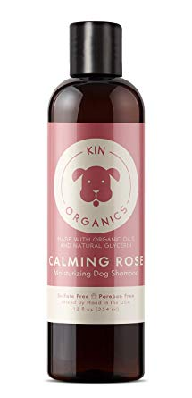 kin+kind Kin Organics Calming Rose Moisturizing Dog Shampoo, 12-oz