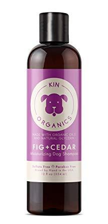kin+kind Kin Organics Fig + Cedar Moisturizing Dog Shampoo, 12-oz (Size: 12-oz) Image