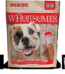 SPORTMiX Wholesomes Bruno's  Pork Jerky Sticks Dog Treat, 25-oz