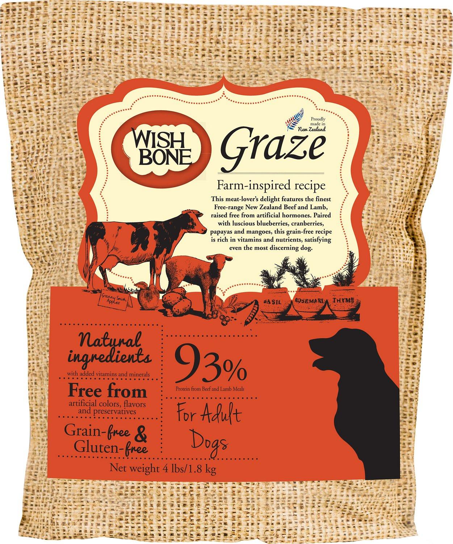 Wishbone Graze Grain-Free Dry Dog Food, 24-lb
