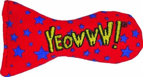 Yeowww! Catnip Stinkies Cat Toy, Star