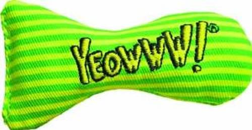 Yeowww! Catnip Stinkies Cat Toy, Stripe