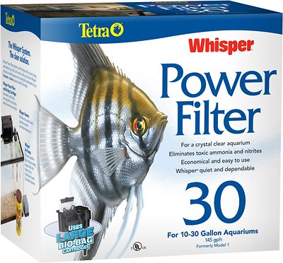 Tetra Whisper Power Filter for Aquariums, Size 30