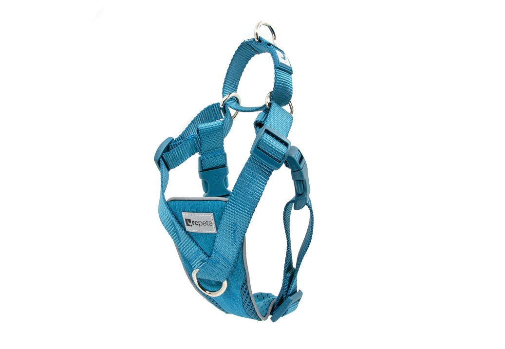 RC Pets Products Tempo No Pull Heather Teal Dog Harness         , Medium