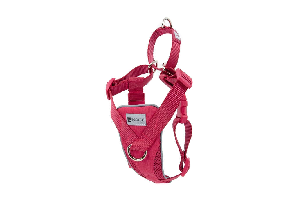 RC Pets Products Tempo No Pull Heather Azalea Dog Harness, X-Large