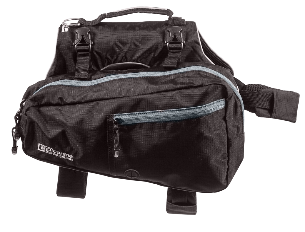 RC Pets Products Ultimate Black Trail Pack, Large