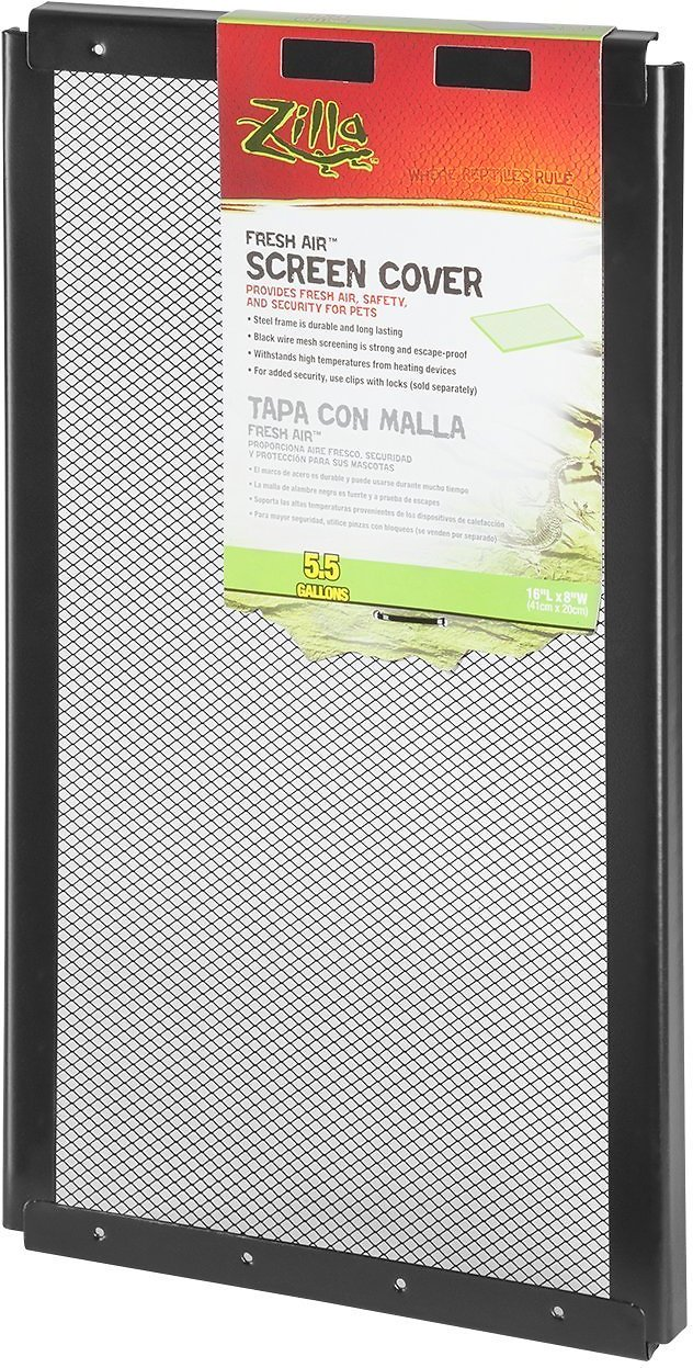 Zilla Fresh Air Screen Cover for Terrariums Image