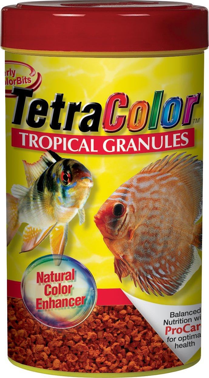 Tetra Color Tropical Granules Fish Food Image