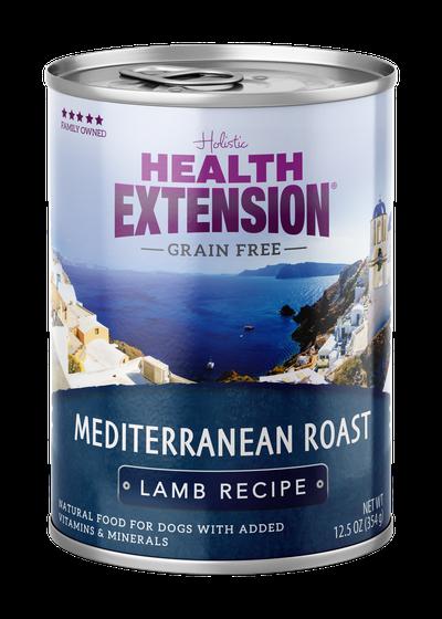 Health Extension Mediterranean Roast Lamb Recipe Wet Dog Food Image